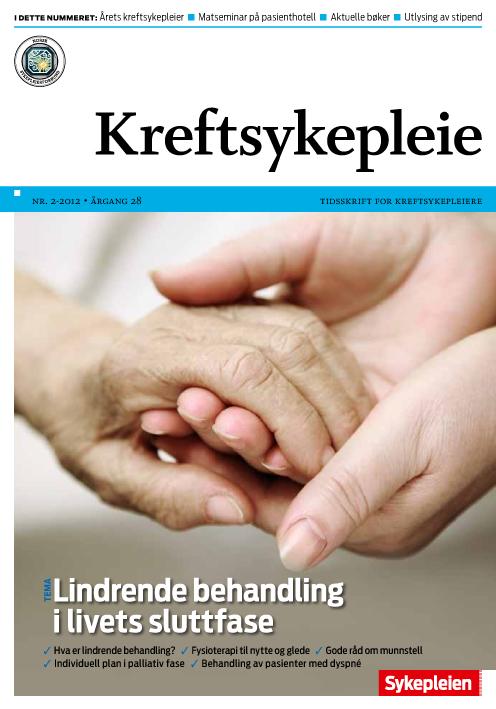 palliativ behandling i livets sluttfase