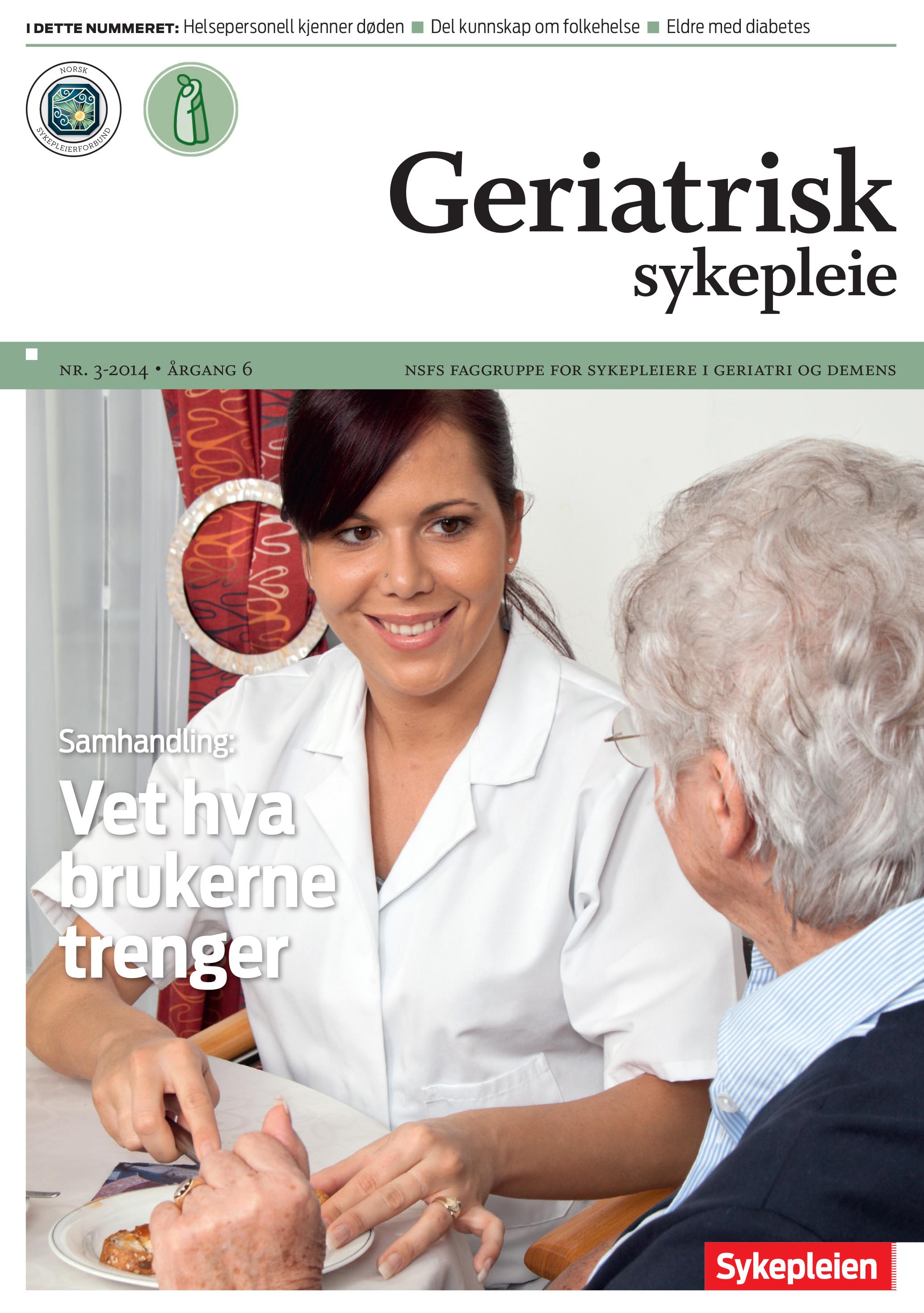 Hva er geriatrisk sykepleie