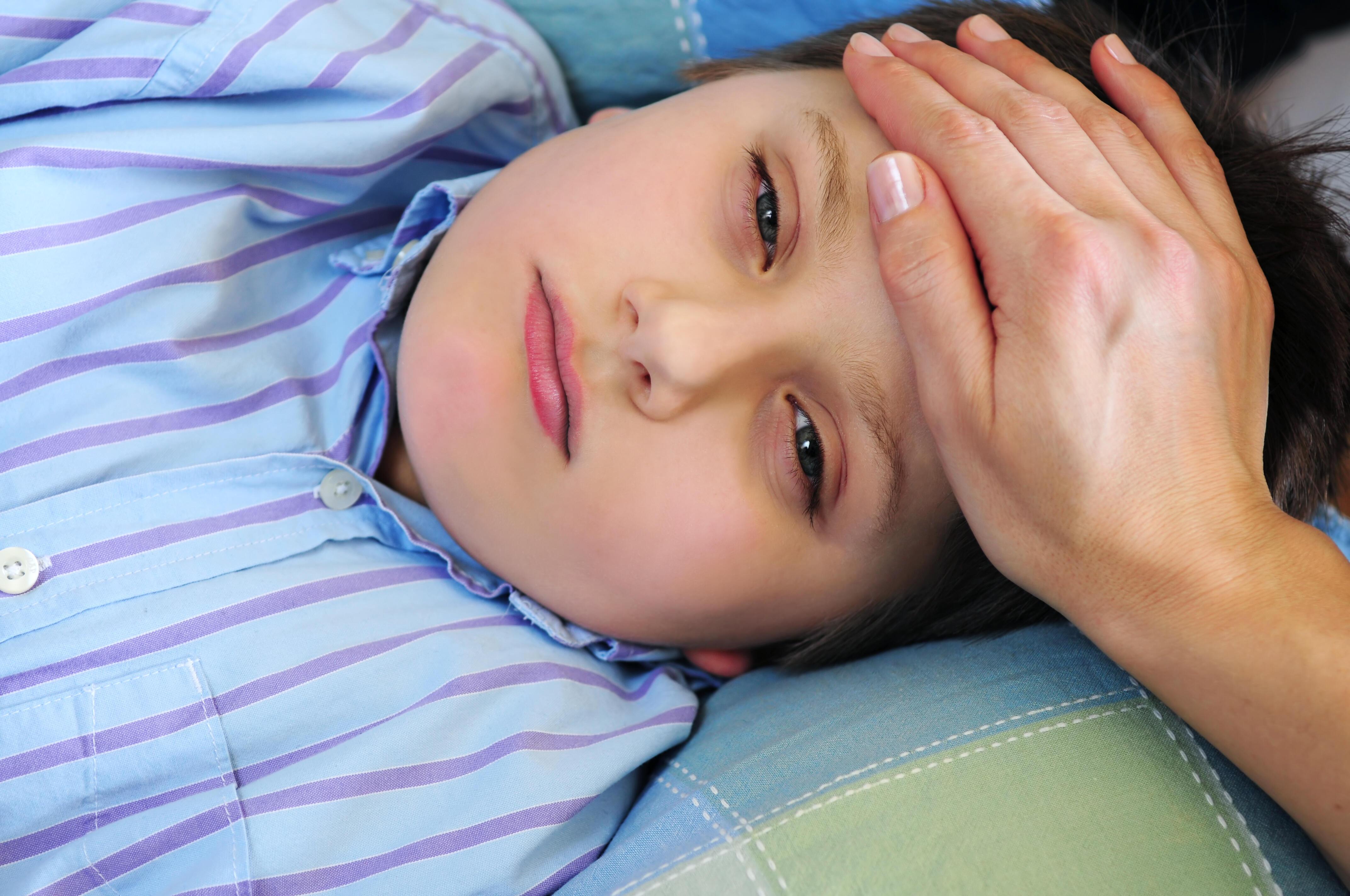 Barn døde på sykehuset - hjernehinnebetennelsen ble ...