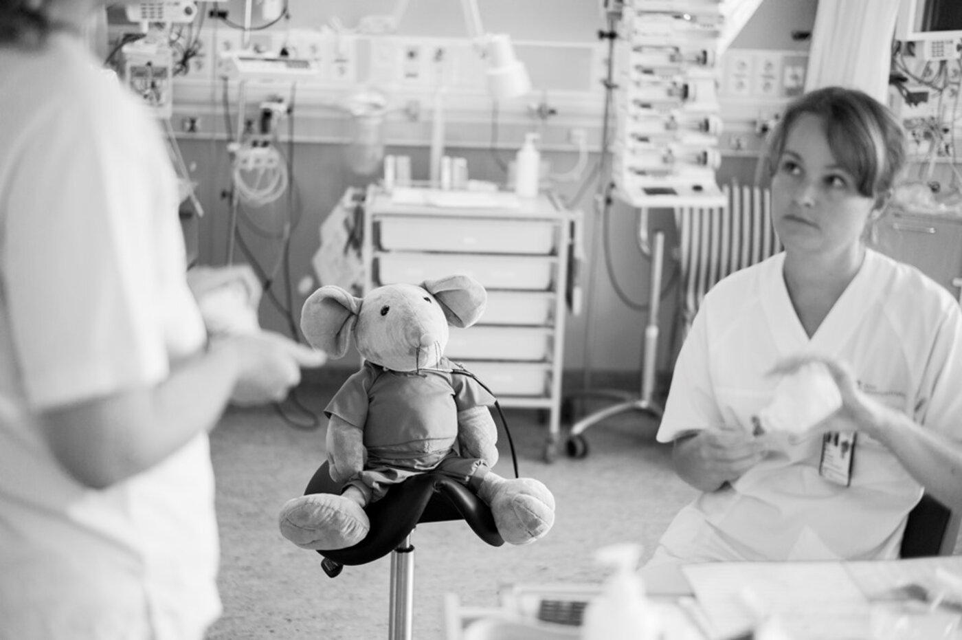 Foreldres opplevelser i intensivavdelingen